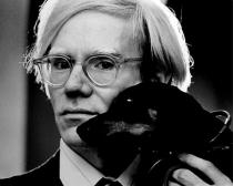 Andy Warhol, between 1966 and 1977. Photo: Jack Mitchel