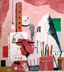 Philip Guston, The Studio, 1969. Private collection © The Estate of Philip Guston