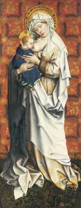 Master of Fl�malle, Madonna and Child, St�del Museum, Frankfurt am Main, Photo: Artothek
