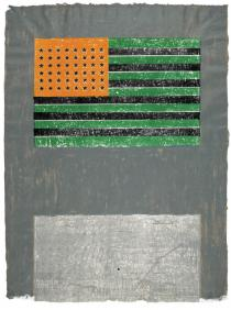 Jasper Johns, Flags, 1968. Lithograph. � Jasper Johns/ Universal Limited Art Editions, 1968/ Licensed by VAGA, New York, NY.