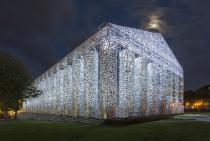 Marta Minujín, The Parthenon of Books, 2017 