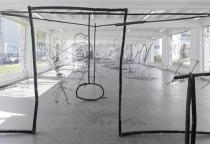 Petrit Halilaj, Installation view. ABETARE, Kölnischer Kunstverein, 2015. Courtesy the artist; Chert, Berlin and kamel mennour, Paris.