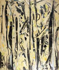 Lee Krasner, Untitled, 1954. Deutsche Bank Collection