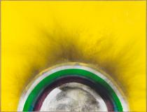 Otto Piene, Yellow,1975. Courtesy Private Collection Germany. Photo: bpk / Roman März. © VG Bild-Kunst, Bonn 2014.
