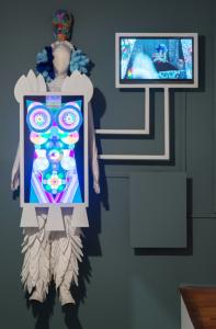 Saya Woolfalk, ChimaTEK: Hybridization Machine, 2013. © Saya Woolfalk, courtesy Leslie Tonkonow, Artworks + Projects, NY.