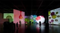 Otto Piene, The Proliferation of the Sun, 2014. Installation view Neue Nationalgalerie Berlin. Photo: David von Becker.