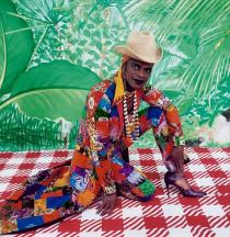 Samuel Fosso, The Liberated American Woman of the 70's, 1997, Deutsche Bank Collection. Courtesy Galerie Jean Marc Patras, Paris