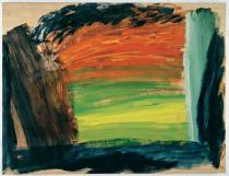 Howard Hodgkin, Where the Deer And the Antelope Play, 