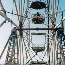 Yto Barrada, Ferris Wheel, 2001. © Yto Barrada. Courtesy the artist and Sfeir-Semler Gallery, Hamburg and Beirut