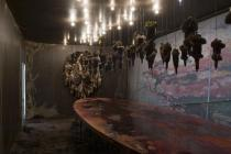 Wangechi Mutu,Exhuming Gluttony: Another Requiem (Detail),2006/2011. Private Collection. � Wangechi Mutu