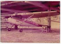 José de Jesús Martínez's plane Aleph 1, Panamá c1970. Supporting