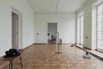 Iza Tarasewicz, CLINAMEN, installation View, Krolikarnia X. Dunikowski Museum of Sculpture, Warsaw 2013