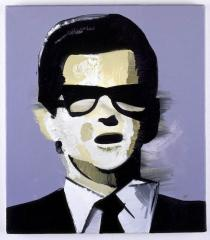 Wilhelm Sasnal, Roy Orbison 1, 2007. Private Collection