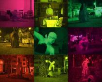 Yorgos Sapountzis, Green Night, 2005.Video, music by psycho mafia. Courtesy Yorgos Sapountzis