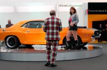 "Richard Prince' Installation ""1970er Dodge Challenger"", Frieze Art Fair, 2007
