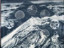 "Richard Buckminster Fuller, LAMINAR GEODESIC DOME, from the series ""Inventions:Twelve around one"", 1981, Deutsche Bank Collection"