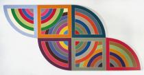 Frank Stella, Harran II, 1967, Solomon R. Guggenheim Museum, New York, Photo: David Heald, © VG Bild-Kunst, Bonn 2010