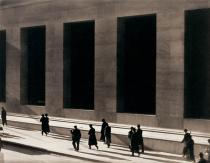 Paul Strand, Wall Street, New York. Whitney Museum of American Art, New York. Photograph by Sheldan C. Collins