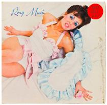 Roxy Music, 1972. Original LP in sleeve. Courtesy Universal Island Records