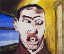 Francesco Clemente. Name, 1983. Oil on canvas. Private collection. Courtesy Thomas Ammann Fine Art AG, Zürich