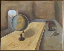 Felix Nussbaum (1904-1944), The Refugee, Brussels, 1939. Oil on canvas. Collection of the Yad Vashem Art Museum, Jerusalem