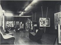 Art of This Century, view of the Abstract Gallery, New York, ca. 1943. Courtesy Peggy Guggenheim Collection, Venice