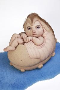 Patricia Piccinini, The Rookie, 2015. Collection of the artist. Courtesy: Tolarno Galleries, Melbourne; Roslyn Oxley9 Gallery, Sydney; Hosfelt Gallery, San Francisco