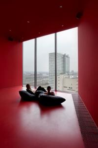 Room with a view. Museum Ostwall at the Dortmunder U. Photo Hannes Woidich