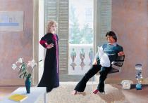 David Hockney, Mr and Mrs Clark and Percy 1970–1. ©  David Hockney