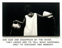 Lorna Simpson, Waterbearer, 1986, Courtesy the artist; Salon 94, New York; and Galerie Nathalie Obadia, Paris / Brussels © Lorna Simpson