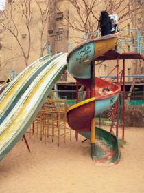 Maha Maamoun, El-Sayyida Park #01, 2008. Deutsche Bank Collection. Courtesy the artist and Gypsum Gallery.