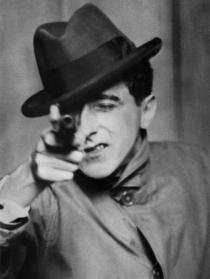 Berenice Abbott, Jean Cocteau with Gun,1926. © Berenice Abbott / Commerce Graphics Ltd, Inc.