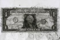 Yan Pei-Ming, One Dollar Bill, 2006