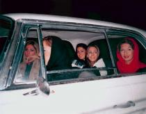 Shirin Aliabadi, Girls in Car 2, 2005. Deutsche Bank Collection. Courtesy the artist and The Third Line.