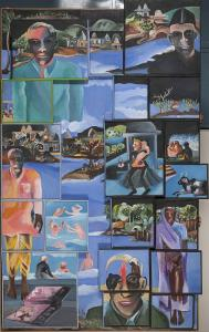 Bhupen Khakhar, Night, 2002