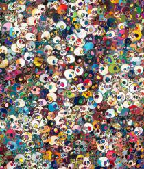 Takashi Murakami, There are Little People Inside Me, 2010. Courtesy of Gagosian Gallery