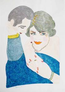 Shirin Aliabadi, Love Triangle 3, 2010-2011. � Courtesy of the artist and The Third Line