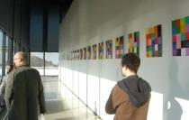 Gerhard Richter, 4900 Colours Version 1. Exhibition view Neue Nationalgalerie, Berlin. Photo Achim Drucks