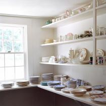 Frances F. Denny, China pantry (Woods Hole, MA), 2013
