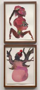 Wangechi Mutu, Beet Root, 2008. Collection of Janine Barrois, Santa Monica, CA. Photo: Robert Wedemeyer. Courtesy of Susanne Vielmetter Los Angeles Projects