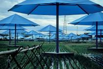 Christo and Jeanne-Claude, The Umbrellas, Japan-USA, 1984-91