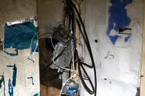 Kate Levant , hive.tangle.jpg, 2011. Stripped utility meter. � Kate Levant; courtesy the artist and Zach Feuer Gallery