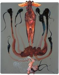 Wangechi Mutu, Drunk Palm IV, 2007. Collection: Amrita Jhaveri. � Wangechi Mutu