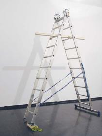 Honza Zamojski, Anarchia / Anarchy, 2010. Ready made installation, SKUC Gallery, Ljubljana, 2010. Courtesy of the artist