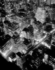 Berenice Abbott, Nightview, New York City, 1932. © Berenice Abbott / Commerce Graphics