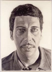Chuck Close, Klaus, 1976
