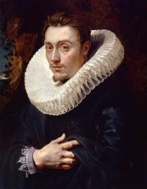 Peter Paul Rubens , Portrait of a Young Man, Circa 1610 � 1613