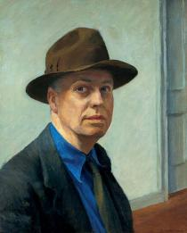 Edward Hopper, Self Portrait, 1925-1930. Whitney Museum of American Art, New York. © Heirs of Josephine N. Hopper, licensed by the Whitney Museum of American Art. Photograph by Robert E. Mates