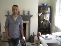 Pablo Bronstein at home. London 2011