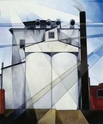 Charles Demuth, My Egypt, 1927. Whitney Museum of American Art, New York